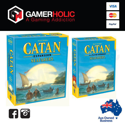 Settlers of Catan 5th Edition Seafarers + 5-6 Player Expansion Board Game