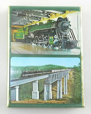 SOUTHERN RAILWAY ~ Double Deck Playing Cards ~ RAILROAD ~ Railway ~ Green Sealed