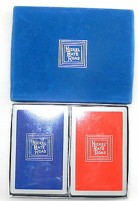NICKEL PLATE ROAD ~ Double Deck Playing Cards ~ RAILROAD ~ Railway ~ Sealed