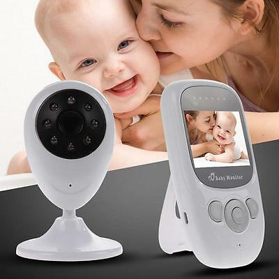 Wireless 2.4GHz Digital Color LCD Baby Monitor Camera Night Vision Audio Video H