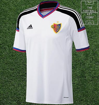 FC Basel Away Shirt - Adidas Player Issue - Mens - All Sizes - Short Sleeved