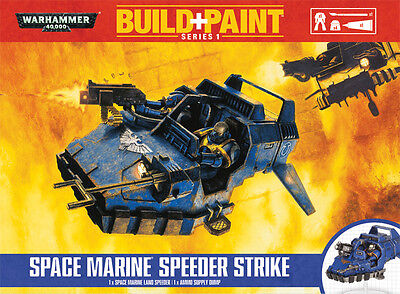Warhammer Build + Paint Series 1 Space Marine Speeder Strike