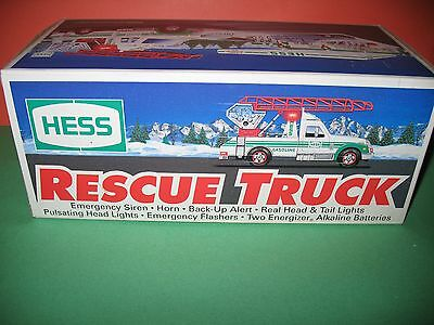 Hess Rescue Truck - 1994 - Brand New In Box !