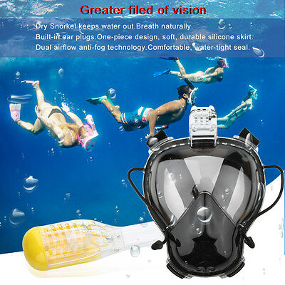 new Diving Mask Scuba Mask Underwater Anti Fog Full Face Snorkeling Mask