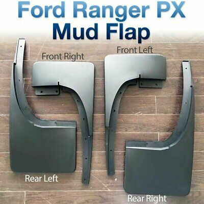 Front Rear Mud Flap Splash Guard For Ford Ranger T6 PX MK1 MK2 2011-Present ABS