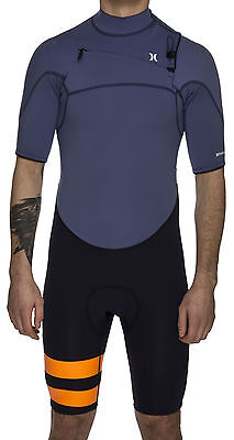 Hurley Fusion 202 Short Sleeve Spring Wetsuit Mens Unisex Surfing Watersports