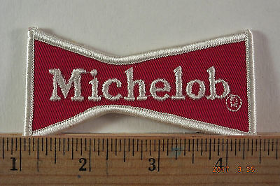 Michelob Beer Embroidered Iron-On Patch