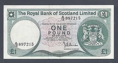 Scotland (Royal Bank Of), 1972, 1 Pound, P336, VF (7215)
