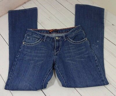 Levi's Girls Blue Jeans Boot Cut Size 16 - A1399