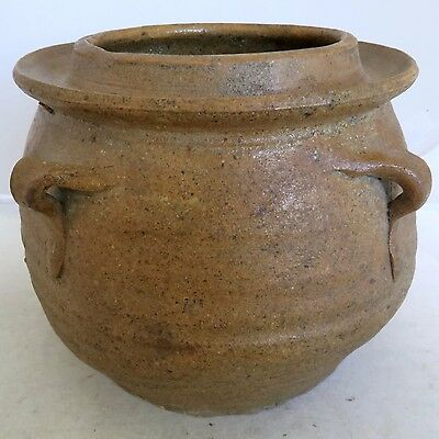 "6.1"" Song Dynasty ? Antique Chinese Brown Glazed Earthenware Storage Vessel"