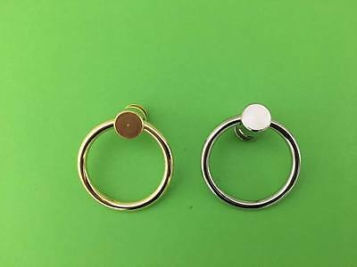 Blind Spare Parts Holland Blind Metal Pull Rings- Silver/Gold