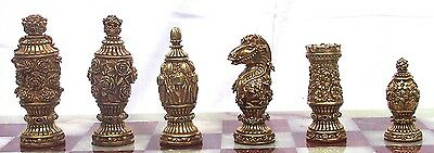 "Tigrani ""Flowers"" Sterling Silver Chess set"