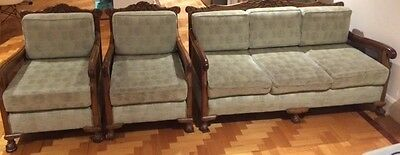Antique Lounge Suite-1920's MUST SELL IN 3 DAYS, OR GOING TO CHARITY