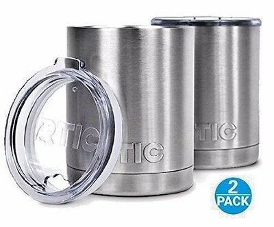 RTIC Stainless Steel Lowball with Lid 10oz Set of 2