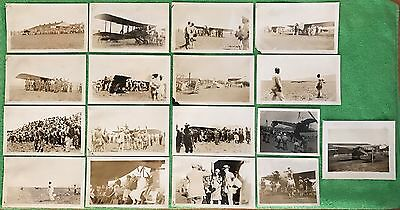 (17) Extremely Rare Original Photos Of Woolaroc - Dole Air Race To Hawaii 1927