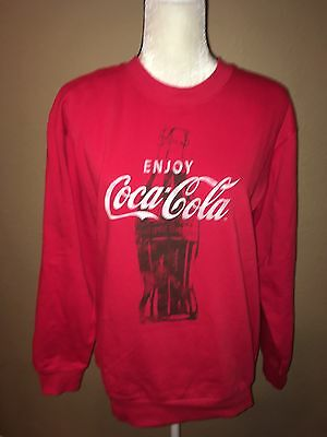 Coca Cola Red Sweatshirt Size M