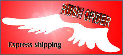 Express shipping Processing - RUSH YOUR ORDER