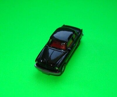Wiking ### Borgward Isabella Schwarz - Black  Made In W. Berlin ### 1:87=Top!!!