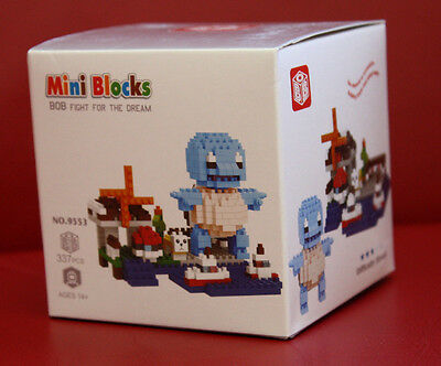mini blocks Pokemon Squirtle 337 Teile