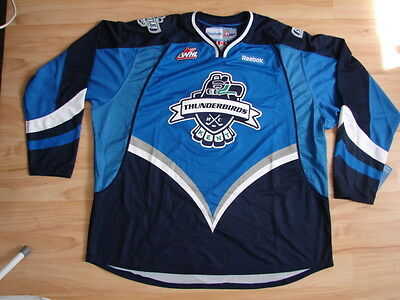 CHL Eishockey Premier Trikot Jersey SEATTLE THUNDERBIRDS Blau WHL Canadiens Jr.