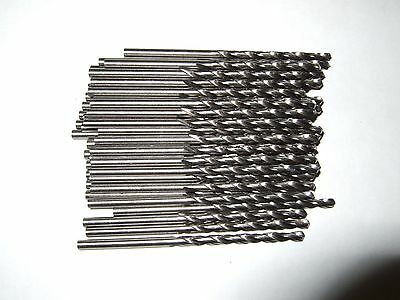 "( 50 pcs ) NEW  7/64"" High Speed Steel  Drill Bits"