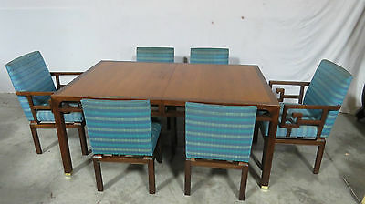 Baker Dining Room Set Table and Chairs Mid Century