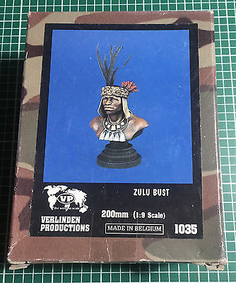 VERLINDEN 1035 - ZULU - BUST 200mm RESIN KIT