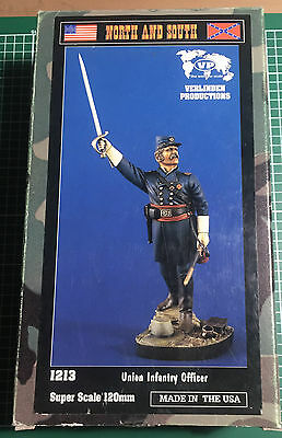VERLINDEN 1213 - UNION INFANTRY OFFICER - 120mm RESIN KIT