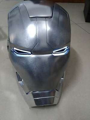 [ Metal ] CATTOYS 1/1 FULL Metal props  Iron Man MK42 XLII LED Helmet with R/C
