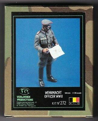 Verlinden 272 - Wehrmacht Officer Wwii - 1/35 Resin Kit
