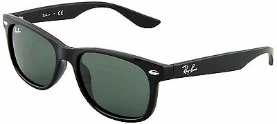 Ray Ban Junior Unisex Wayfarer Classic Kid's Sunglasses Matte Black 1956 Design