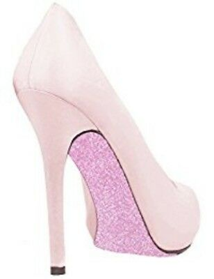 Sparkle Sticker Shoe Covers (Glam Pink) - Sole Stickers Heels Glitter