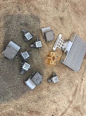 10 - RF / Microwave Filters, Circulators, Devices SMA Harris And Other