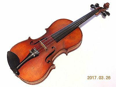 Nice Vintage Full Size Violin / Fiddle for Repair  #030817BPC7