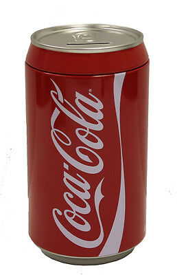 """Large 8"""" Coke Can Replica Coin Bank!"""