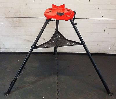Ridgid 460 Chain Vise Tripod Stand Use Your Pipe Threading Threader 300 700 #2