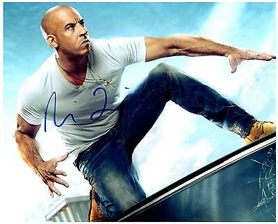 Vin Diesel autographed 8x10 Picture signed Photo with COA