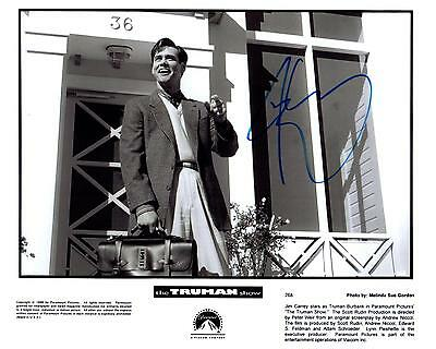 Jim Carrey autographed 8x10 Picture signed Photo with COA