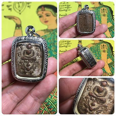 Beautiful Thai Buddha Amulet Talisman Pendant Luck Rich Attracted Protected 3