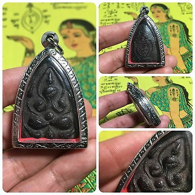 Beautiful Thai Buddha Amulet Talisman Pendant Luck Rich Attracted Protected 10