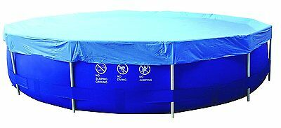 Jilong Poll PC 450 RSF - Pool cover for round steel frame, Blue