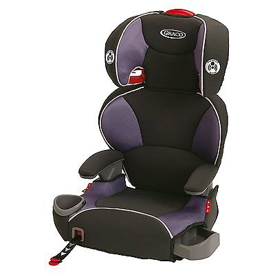 Graco Affix Youth Booster Car Seat with Latch System Grapeade New Kid High Back
