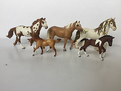 Schleich Breyer Lot of 5 Horses | Fairy Colt Figures HTF