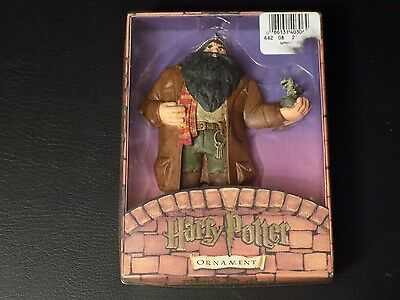Harry Potter Kurt S. Adler Ornament - 2000 - Rubeus Hagrid - Complete in Box