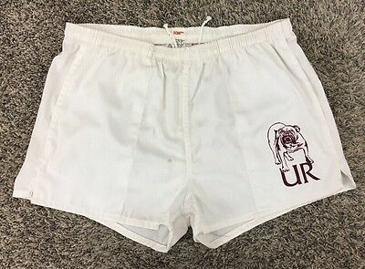 Vintage 60's University of Redlands Bulldogs Collegiate Pacific Gym Shorts 34/36