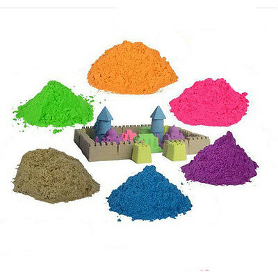 Kinetic Sand Child DIY Motion Indoor Play Non Toxic craft colored sand Toy sand