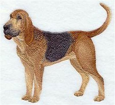 """Bloodhound Dog  Embroidered Patch """"6.4x5.8"""""""