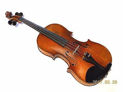 Vintage 4/4  Stradivarius Labeled Violin for Repair  #030817BPC9