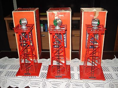 3 Units 6-81944 Lionel Rotary Beacon