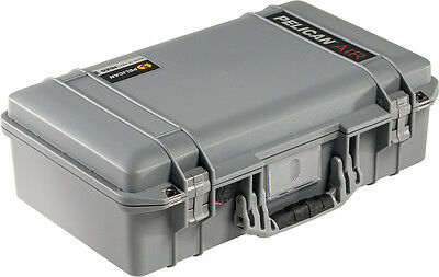 Silver / Grey Pelican 1525 Air case  With Foam.